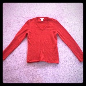 Like new! TWEEDS 100% 2 ply cashmere sweater